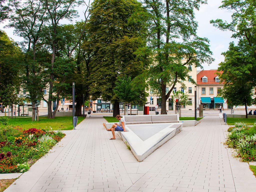 Verkehrsknotenpunkt Am Steintor Halle 07