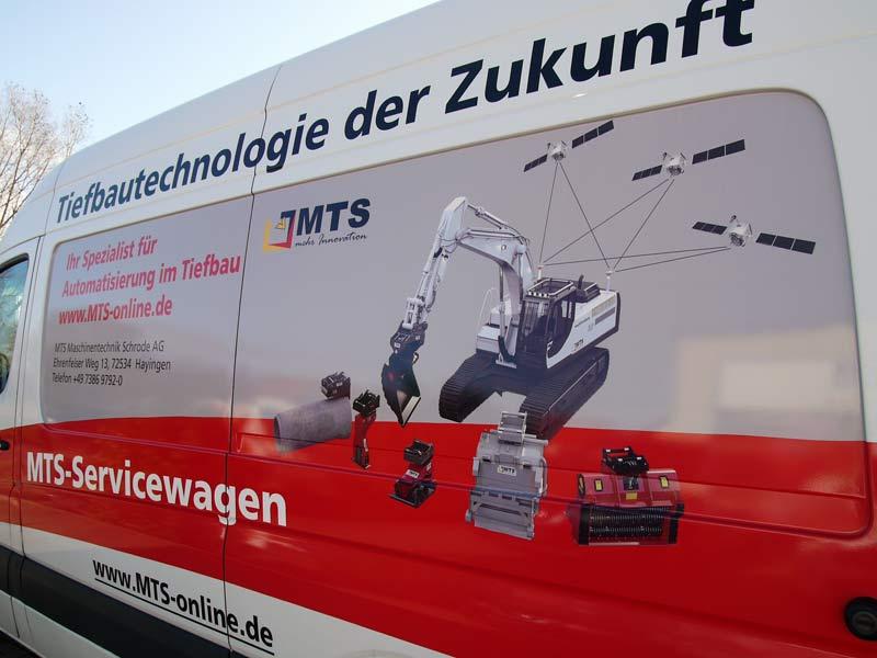 Spezial-Anbaugeräte im Tief- und Straßenbau der MTS Maschinentechnik Schrode AG